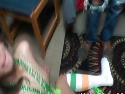Fuck of the irish with green skirt girl