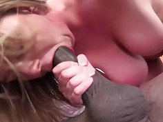 Brooke Wylde Having Her First Interracial Threesom