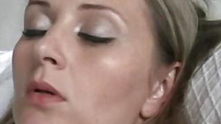 Lesbian fun with czech submissive MILF Hanka