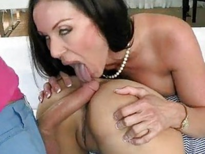 Kendra Lust and Shae Summers share a cum