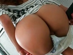 Charming gal rides on dudes love shaft like a slut
