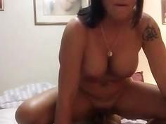 Amateur Grandma fucks BBC