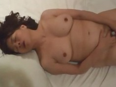 Very Horny Asian Milf Amateur