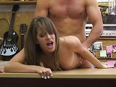 She got a camel toe pussy that I fucked so hard