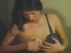 pleasing masturbation with huge tits