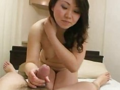 Masami Sekine  Chubby Japan Wife Riding A Dick