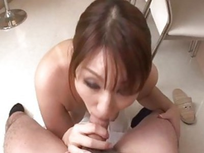 Nothing like a big dick to please cock sucking? ? Araki Hitomi