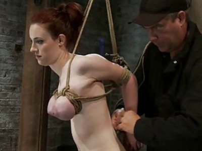 Hogtied Isis Love and Iona Grace