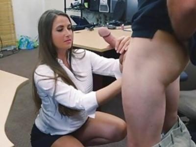 He slammed her wet pussy