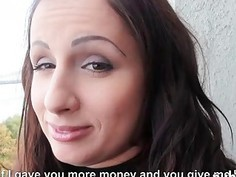 Real amateur Czech girl nailed in exchange for money