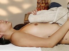 Poor pornstars banged hard in special masseur