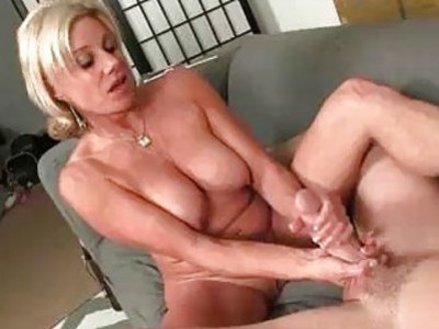 Horny Neighbor Wants Poor Guys Cumshot So Badly