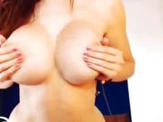 Perfect Webcam Girl Plays With Her Pussy