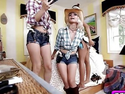 Trick Or Treating Turns Naughty Due To Our Sexy Costumes