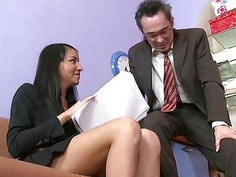 Slutty older teacher fucks playgirl senseless