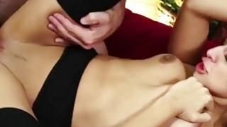 Licked & Fucked Latina Cums