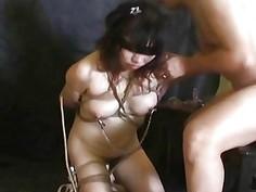 Asian freak couple going through a sexual experime