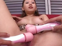 Cum on face for slutty Japanese Mariru Amamiya