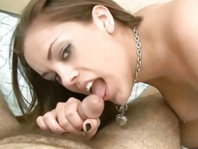 Katie Cummings is swallowing some dick