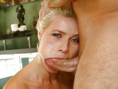 Sexy honey is dude with wicked blow job