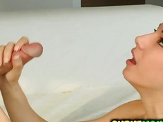 Fit Alexis Rodriguez suck a mean cock