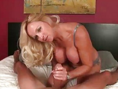 Feisty Cougar Babe Wants Cocks Way Way Bigger