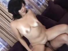Asian floozy has a hot fuck to go through