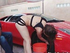 From Lambo carwash to hot fuck