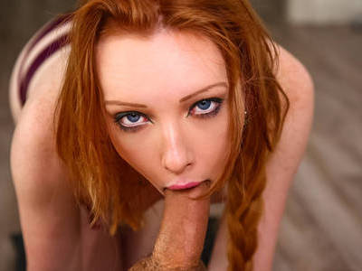 Eager to show how good she is with a cock in her mouth