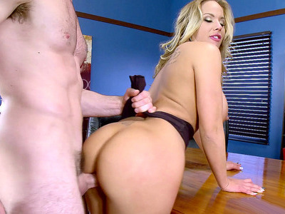 Cock hungry MILF Olivia Austin getting slammed by her co-worker