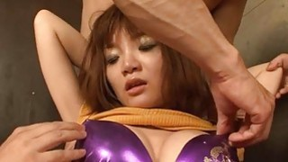 Stud bangs an oriental beauty with enjoyable boobs