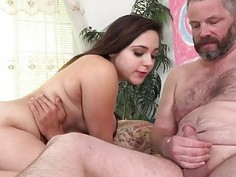 Zoey Foxx fucks her lover as her hubby watches