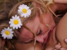 Alex Chance and Natalia Starr Have Lesbian Orgasms