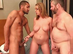 Brooke Wyldes hubby gives her a BBC