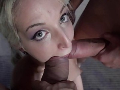 Blonde Liz Rainbow gets fucked hard