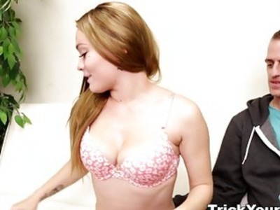 Trick Your GF - Slutty gf tricked and fucked