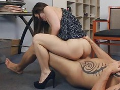 Bambi Brooks would gag on his cock
