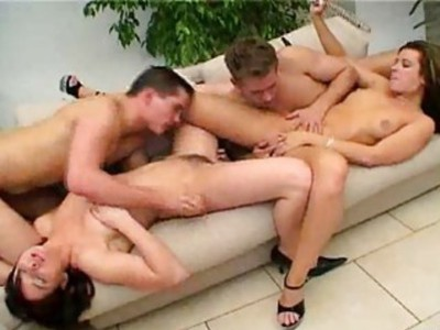 A couple of bisexual couples  (CLIP)