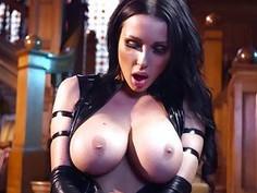 Psylocke sucking huge mutant cock