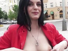 European Alice Nice pounded for money