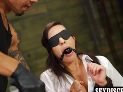 Naughty slut Rachel Rae enjoying Brunos way of fucking hard