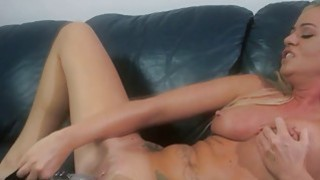 Blonde Choked While Fucked Hard