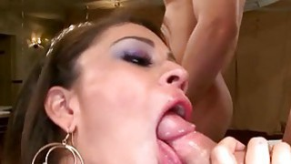 Sexy blond rides on studs dick like a pro