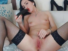 Hot Sexy Babe Loves to Masterbate Hard