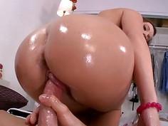 Bg butt pornstar Jamie Jackson pounded