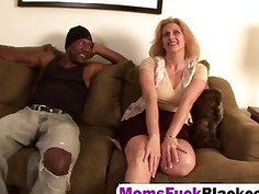 Horny blonde MILF fucked hard by BBC
