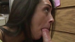 Lilly Hall sucking horny cock for cash