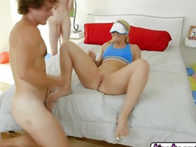 Tricking My Girl Aj Applegate Into A Threeway