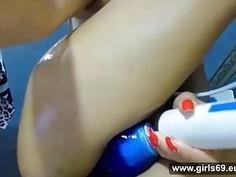 Geile Brasilianerin anal