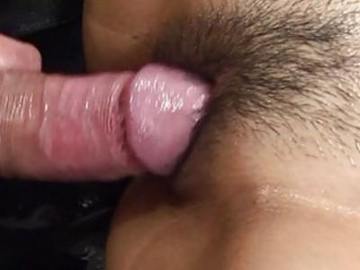 超热brunett亚洲女按摩师性交